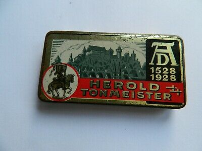 Herold  Tonmeister Three Needle Type  Gramophone Needle Tin