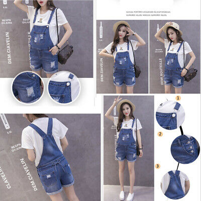 2019 Summer Fashion Maternity Suspender Clothes Women Shortall Shorts Jumpsuit