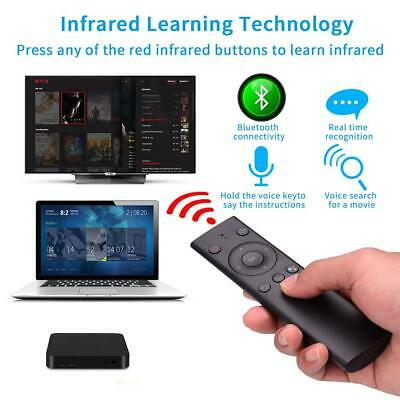 Q5 BLUETOOTH/2 4GHZ VOICE Remote Control Air Mouse For Smart