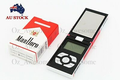 MINI 500g 0.01 DIGITAL POCKET SCALES JEWELLERY PRECISION ELECTRONIC WEIGHT AU SK