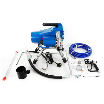 Airless Wall Paint Spray Gun High Pressure Sprayer Spraying 395 Model 2.5L/Min