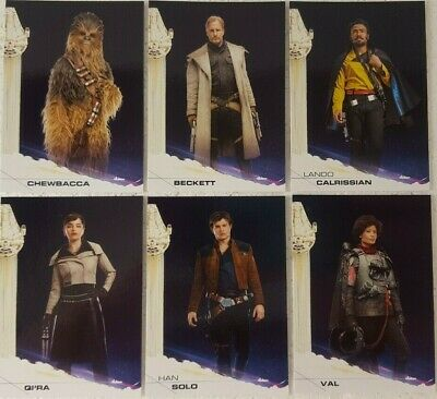 2018 Topps Star Wars Solo Movie Trading Card Base Set of 100