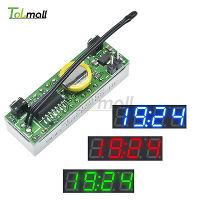 DS3231SN 3 in 1 LED Digital Clock Temperature Voltage Module DIY Electronic