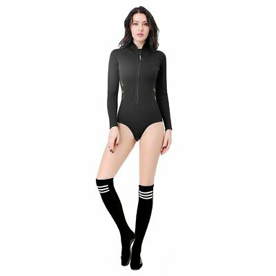 2mm Diving Suit Female Long Sleeve Warm Diving Stockings Bikini Surf Swimsuit CO
