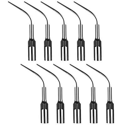 10 Dental Ultrasonic Scaler Perio Scaling Tips P3 For EMS Woodpecker Handpiece