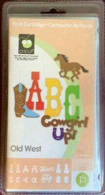*SALE* New! Cricut OLD WEST Cartridge SEALED NOT LINKED Retired FREE SHIP RARE!