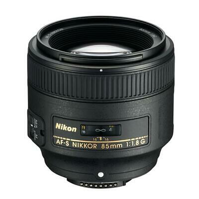 Brand New Original Nikon AF-S 85mm F1.8g Black Lens IT*1