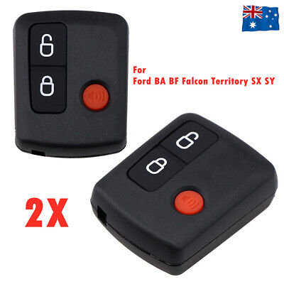 2x for Ford Remote Control BA/BF Falcon Territory SX/SY/Ute/Wagon 02-10 3 Button