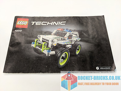 GRADE B⭐️ ⭐️LEGO TECHNIC 8620 SNOW SCOOTER INSTRUCTION MANUAL ONLY