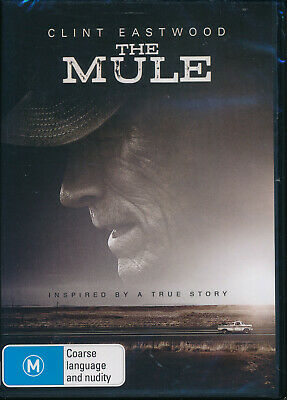 The Mule DVD NEW Region 4 Clint Eastwood inspired by a true story