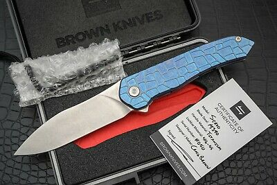 1) CHRIS REEVE Knives Small Inkosi Damasteel blade CRK New In Box