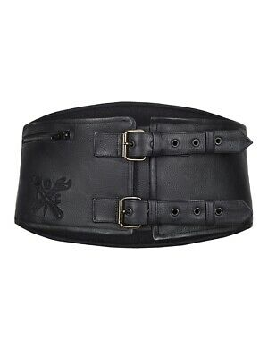 John Doe Classical Kidney Belt Leder Nierengurt Gr. L-XL - Nierengürtel