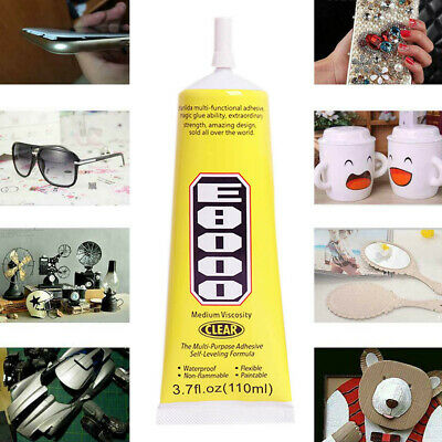 110ml E8000 Clear Adhesive Sealant Glue for DIY Diamond Shoes Paste Jewelry Craf