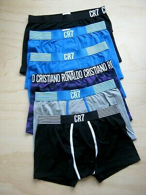 Pack of 5 Men's CR7 Underwear Trunk Boxer Brief