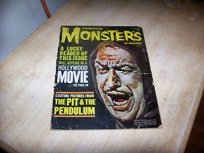 Famous Monsters Of Filmland [ October 1961 No. 14]