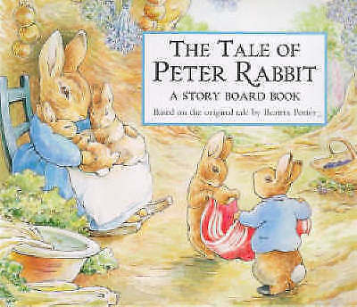 The Tale of Peter Rabbit Story Board Book by Potter, Beatrix