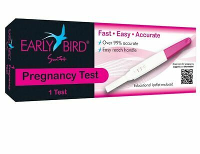 Early Bird Swift Pregnancy 1 Test  (Clear Blue Equivalent) 99% Accurate