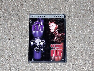 The Fly & The  Return of the Fly Double Feature DVD 2000 Brand New Vincent Price