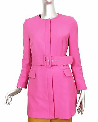472a8bb7 ZARA NEW WOMAN Belted Frock Coat Blazer-Dress Coral Xs-Xxl 2217/349 ...