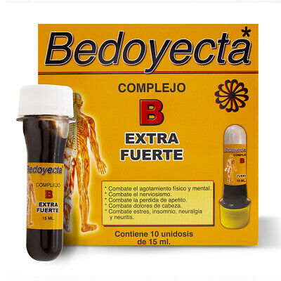 1 BEDOYECTA COMPLEJO B EXTRA STRONG DRINKABLE - 10 Bottles 15ml/each