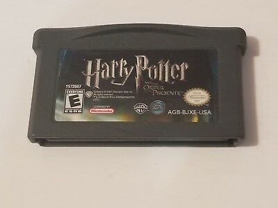 Harry Potter and the Order of the Phoenix GBA (Nintendo Game Boy Advance, 2007)