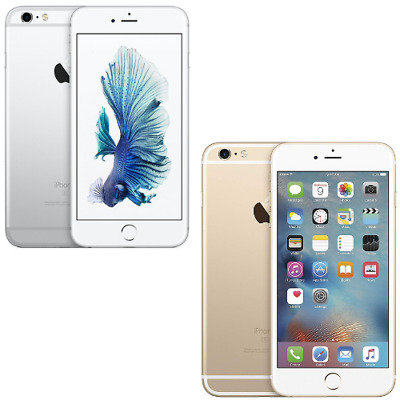 Apple iPhone 6S Plus Silver White Gold 32GB Factory Unlocked 4G LTE iOS