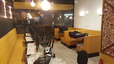All type restaurant sofas, chairs and tables. Now available in different colours