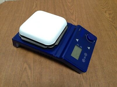 "Digital Hot Plate and Magnetic Stirrer 5"" x 5"" 120V Stirring Heat"