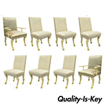 8 Hoof Paw Foot Regency Dining Chairs After The Etruscan Chair by John Dickinson