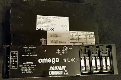 Micromass DC Power Supply Omega 400PFC power supply Qtof 2 & QTOF Ultima LC MS