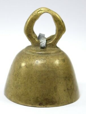Indian Ethnic Vintage Rare Bronze Temple Bell Ornament Nice Decor. G70-162 CA