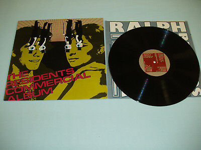 """THE RESIDENTS Commercial Album 12"""" vinyl LP 1st press Ralph Records Fred Frith"""