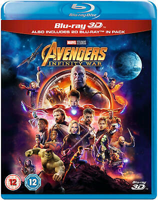 Avengers: Infinity War 3D (Blu-ray 3D Includes 2D Version) *NEW*