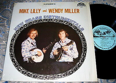 Mike Lilly And Wendy Miller – New Grass Instrumentals - Old Homestead 1st Prs