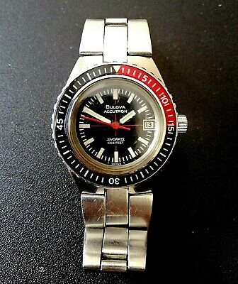 Vintage Bulova Accutron Snorkel 666 ft Watch Lady. Nice working condition! Rare