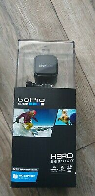 GoPro HERO4 Session Camcorder - Black - used but MINT - 128GB Micro SD INCLUDED!