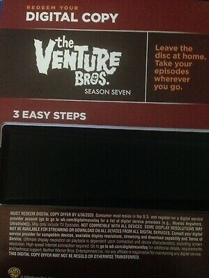 The Venture Bros Season 7 Digitized HD Edition