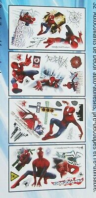 The Amazing Spider Man 2 Wall Decals 32 Self Adhesive Wall Decor Accents