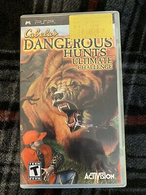 Cabela's Dangerous Hunts: Ultimate Challenge (Sony PSP 2006) Good Condition Game