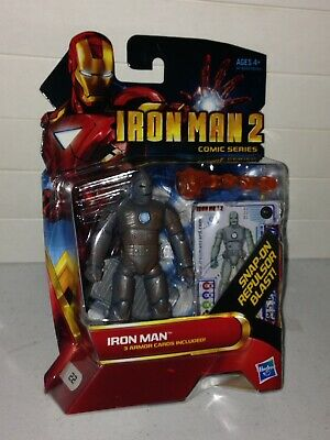 Iron Man 2 Movie Series Iron Man Mark 1 Launching Flamethrower Blast Armor Cards
