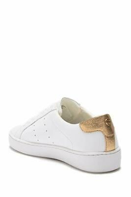 2c4ec53944 Michael Michael Kors Womens Irving Lace Up Leather Low Top, Opt/Gold, Size