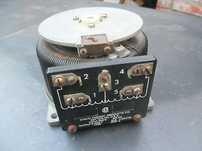 STACO ADJUST-A-VOLT VARIABLE Auto Transformer (Variac
