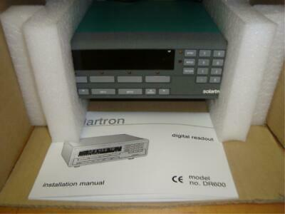 Solartron Dr600 Digital Readout Unit 90-264Vac!
