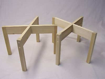 STANDS FOR ACOUSTIC RESEARCH SPEAKERS AR-3a, AR-3, AR-2ax,  - UNFINISHED