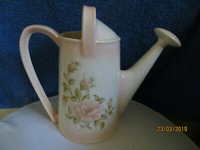 Kreation Ceramic Hand Made Glazed Watering Can..... Display Piece.....