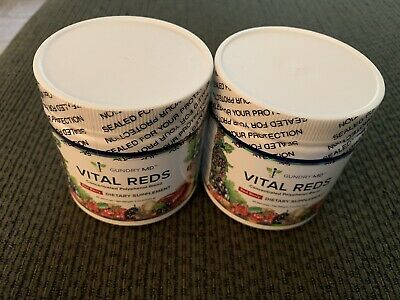 TWO Gundry MD Vital Reds Concentrated Polyphenol Blend - 4oz each (New/Sealed)