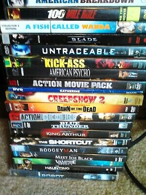 DVD'S USED CHEAP Movies Videos TV Series Seasons w/ Artwork and