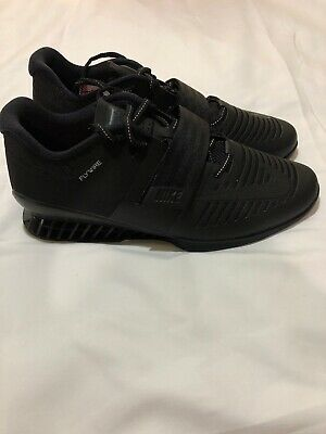 sports shoes 8cd92 15503 Nike Romaleos 3 Mens Weightlifting Training Shoes Cross Fit Triple Black New  12