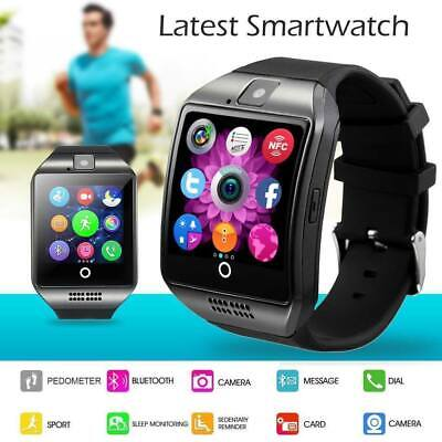 2019 Q18 Bluetooth Smart Watch Phone Wrist watch for Android & iOS UK STOCK