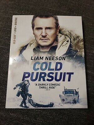 Cold Pursuit (Blu Ray + DVD)w/SLIP COVER. Not Digital code